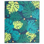УРСКОГ Ковер безворсовый,лист,зеленый